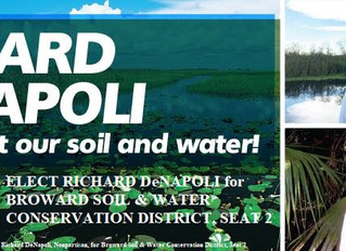 Richard DeNapoli is running for the Broward Soil & Water Conservation District, Seat 2