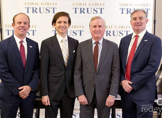 Coral Gables Trust Company Hosts 'Dynamic Wealth Speaker Series' Luncheon Featuring a Line-Up of Sou