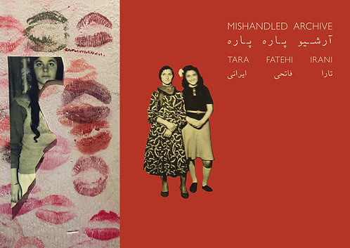 Mishandled Archive Book:Personalised & Signed + Postcard