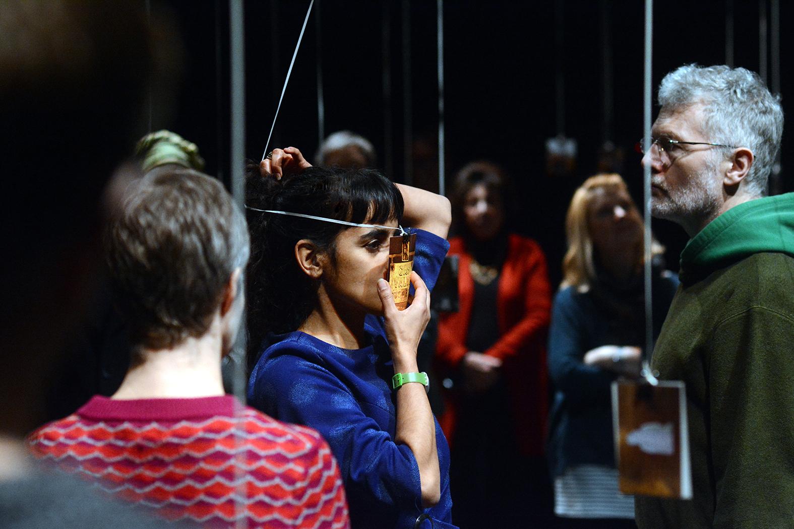 Tara Fatehi Irani, Mishandled Archive, Nuffield Theatre (Lancaster, 2020), © Darren Andrews