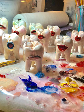Mighty Molar Stone Puppets
