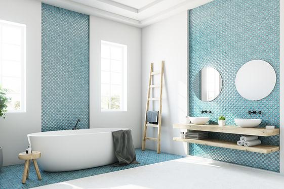 bathroom tile design in Hobart