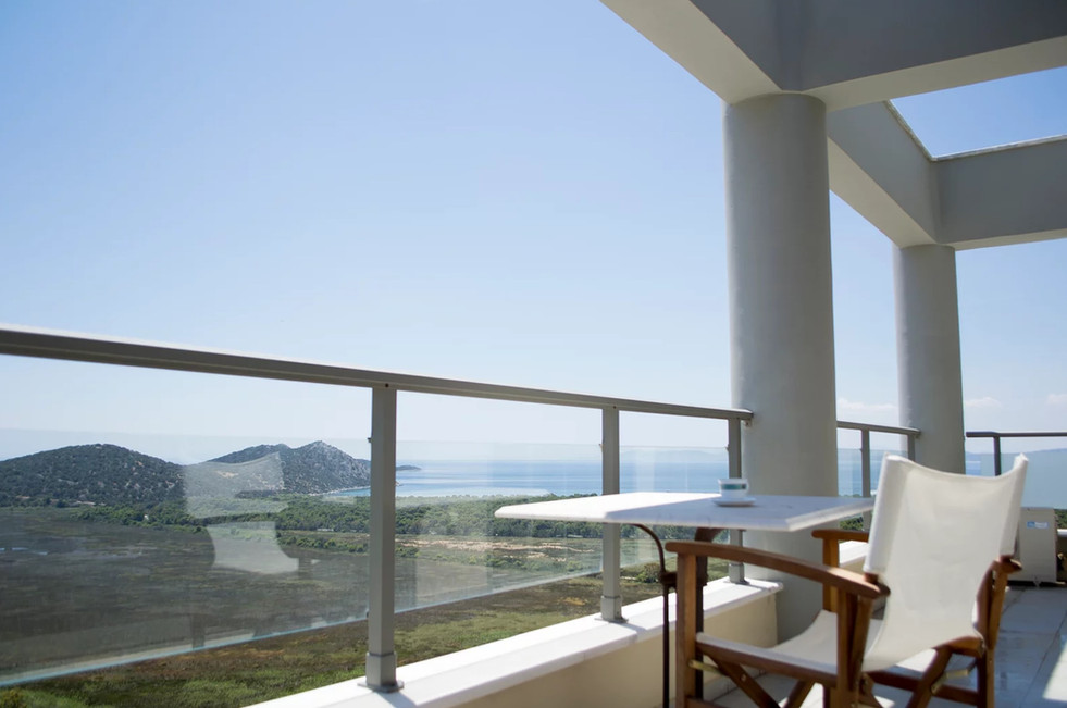 House for sale with panoramic views near the sea, Schinias beach, Athens