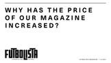 WHY HAS THE PRICE OF OUR MAGAZINE INCREASED?