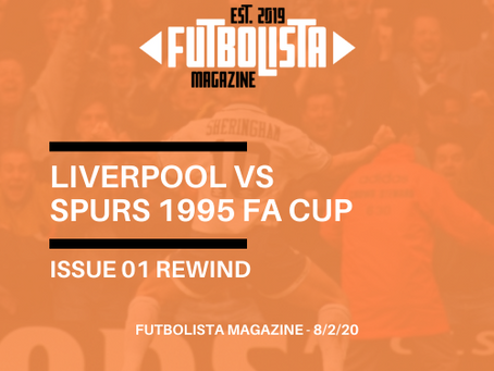 LIVERPOOL VS SPURS 1995 FA CUP