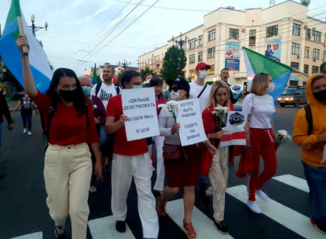 « Unis, nous vaincrons ! » Solidarité de Minsk à Khabarovsk