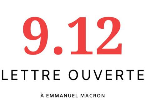 Lettre ouverte à Emmanuel Macron