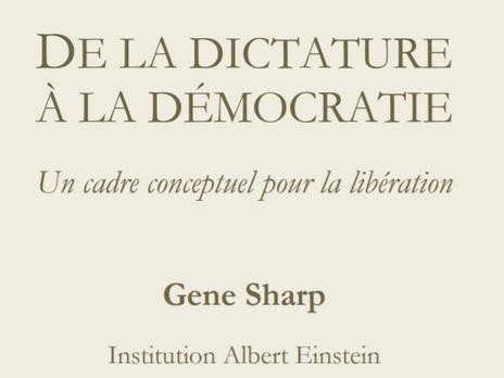 Gene Sharp, le Grand Inspirateur [de la non-violence]