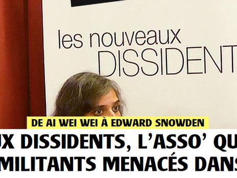 |Lu ailleurs| Les nouveaux dissidents, l'asso' qui veut venir en aide aux militants menacés