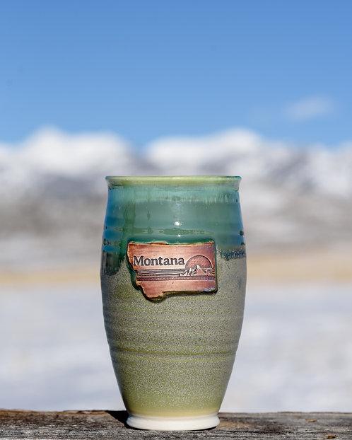 Emerald Tall Glass