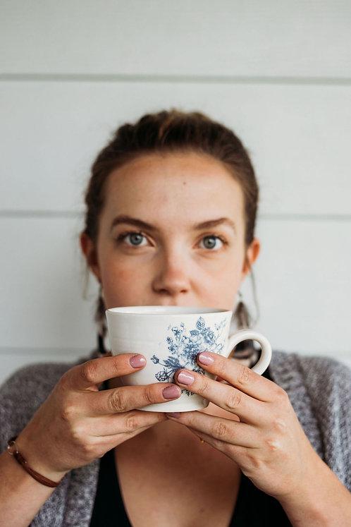 Floral Latte