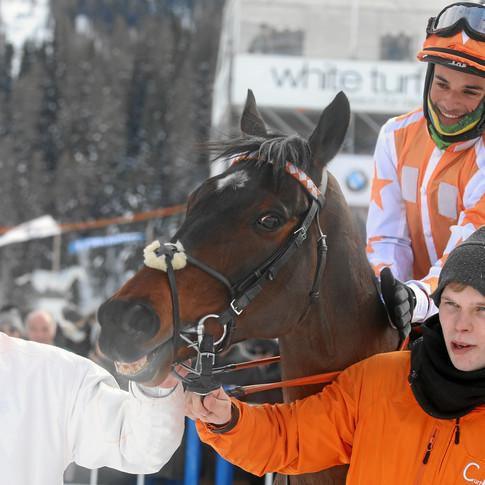 WInner in St Moritz
