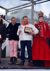 John Best at St Moritz