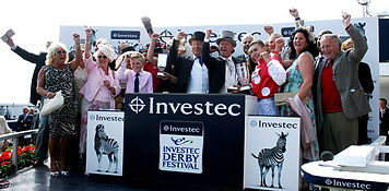Racehorse owners at John Best Racing