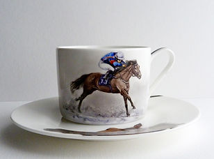 Vale of Iron Cup and Saucer Lana Arkhi
