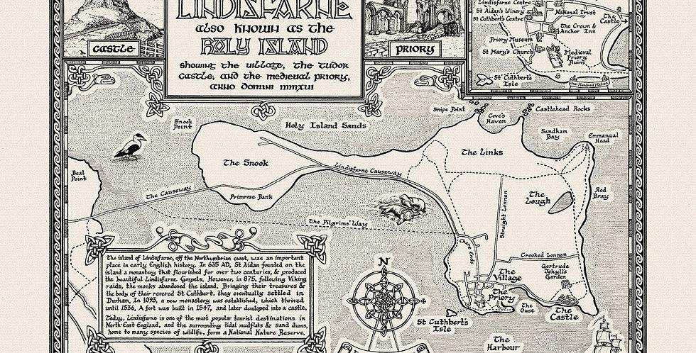 Lindisfarne Map