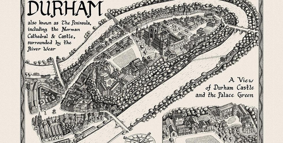 Durham Bailey Map