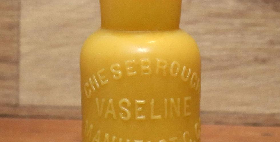 Vaseline Beeswax Candle
