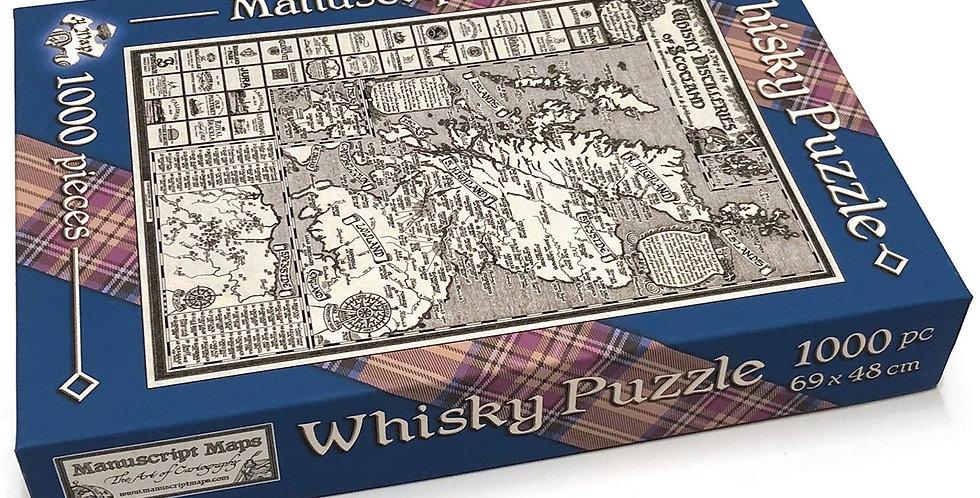 1000 Piece Whisky Map Jigsaw