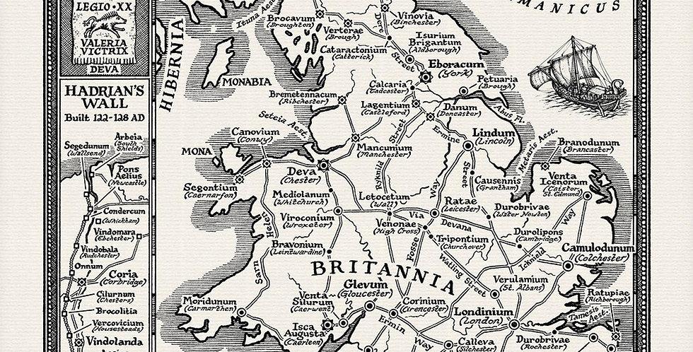 Roman Britain Map