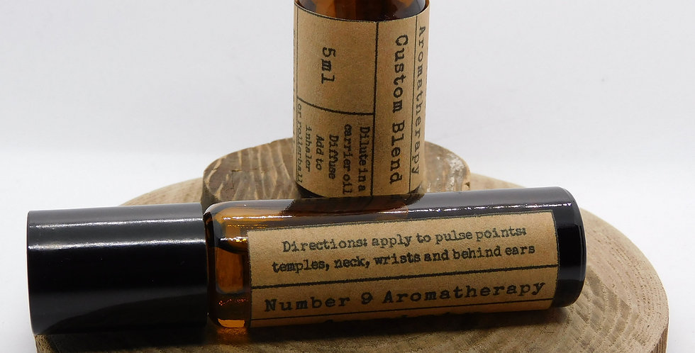 Essential oil refill for Number 9 Aromatherapy rollerballs