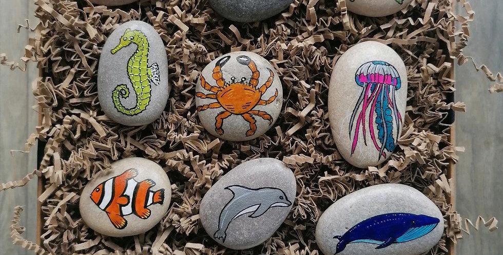 Sea Creatures Story Stones