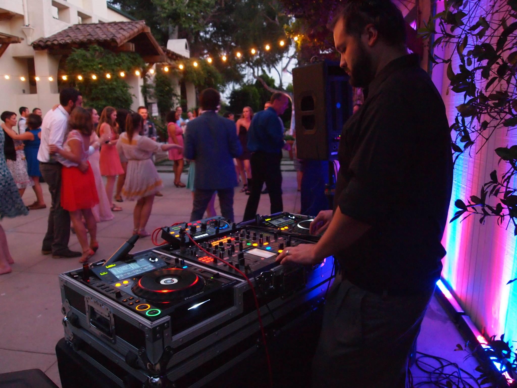 Ben DJs Your Wedding