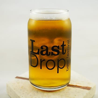 Last Drop Beer Festival 2020 5.5oz Taster Glass