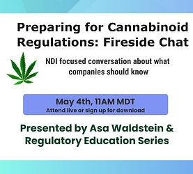 Preparing for Cannabinoid Regulations