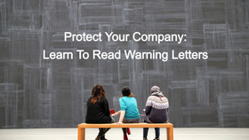 Warning Letter Review: What went wrong & how to avoid