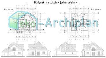 projekty domów Działdowo, architekt