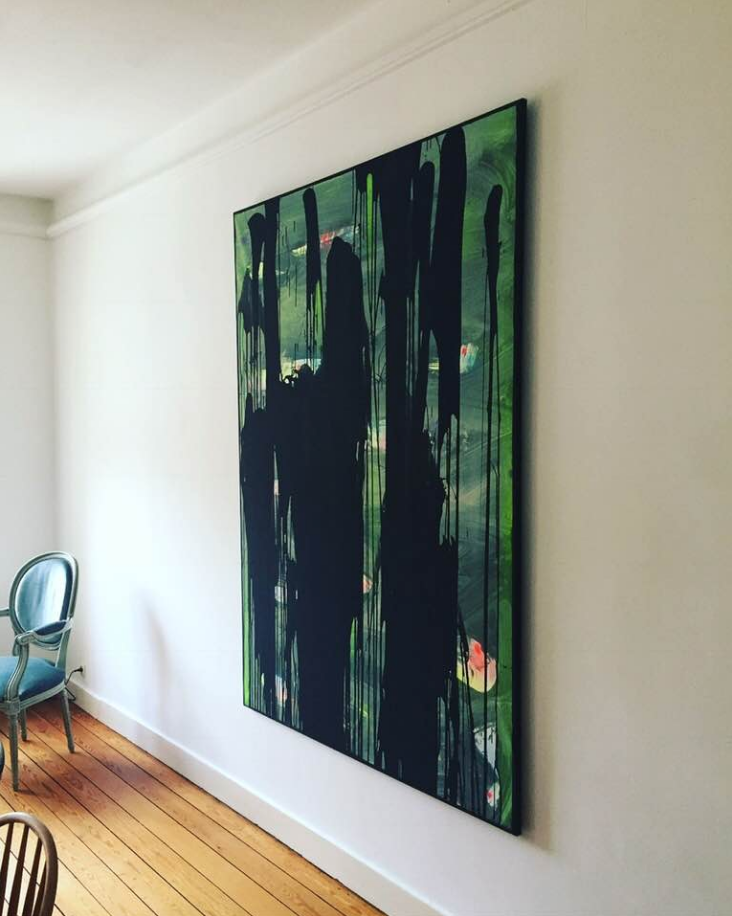 Peinture acrylique 200cm x 120cm