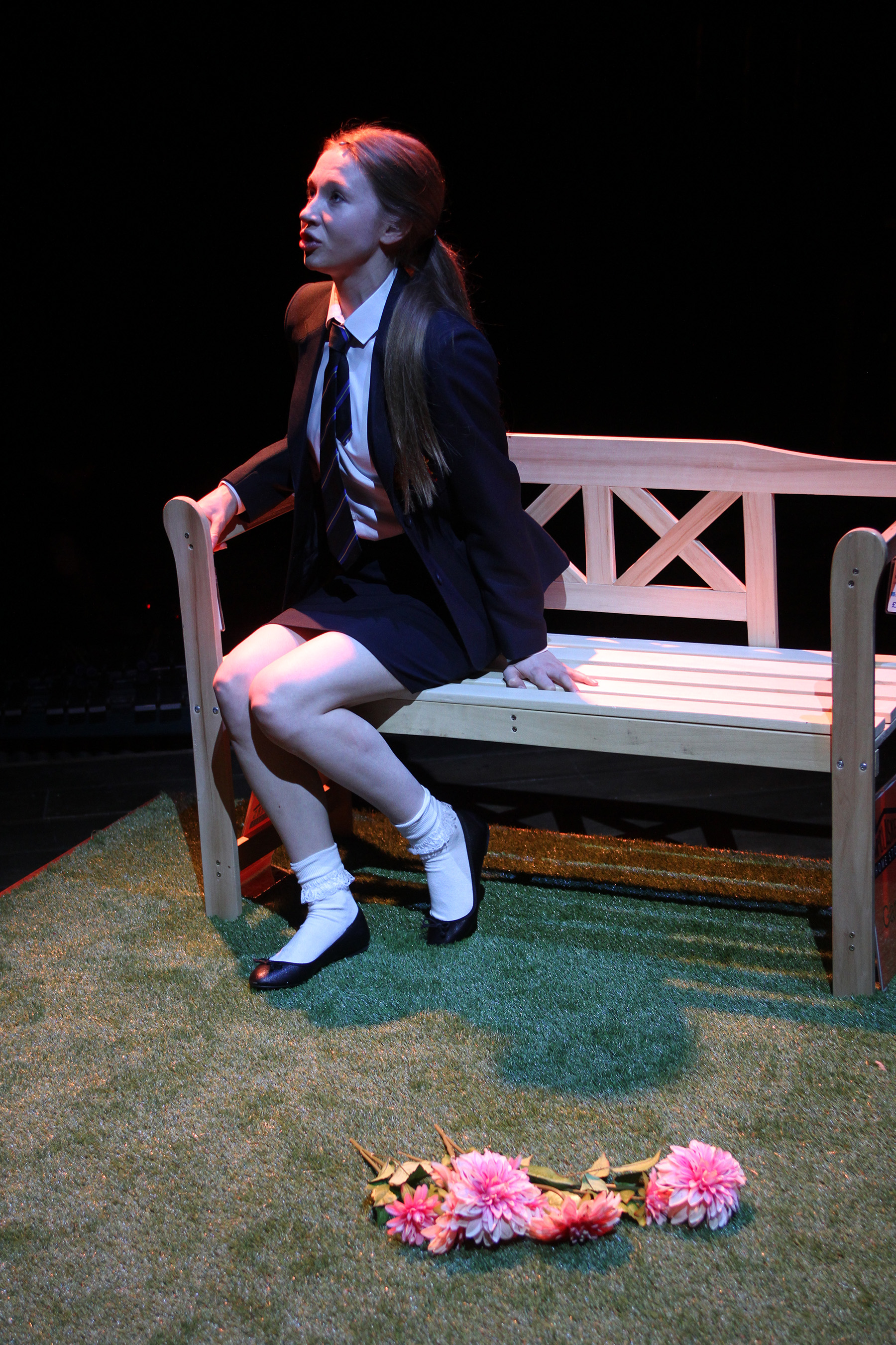 Emily Hughes in The Sum, photograph by Stephen Vaughan IMG_2422