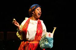 Melanie La Barrie in Romeo & Juliet, photo by Gary Calton GC280517116
