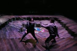 George Caple, Zelina Rebeiro & Elliott Kingsley in Romeo & Juliet, photo by Gary Calton GC280517173