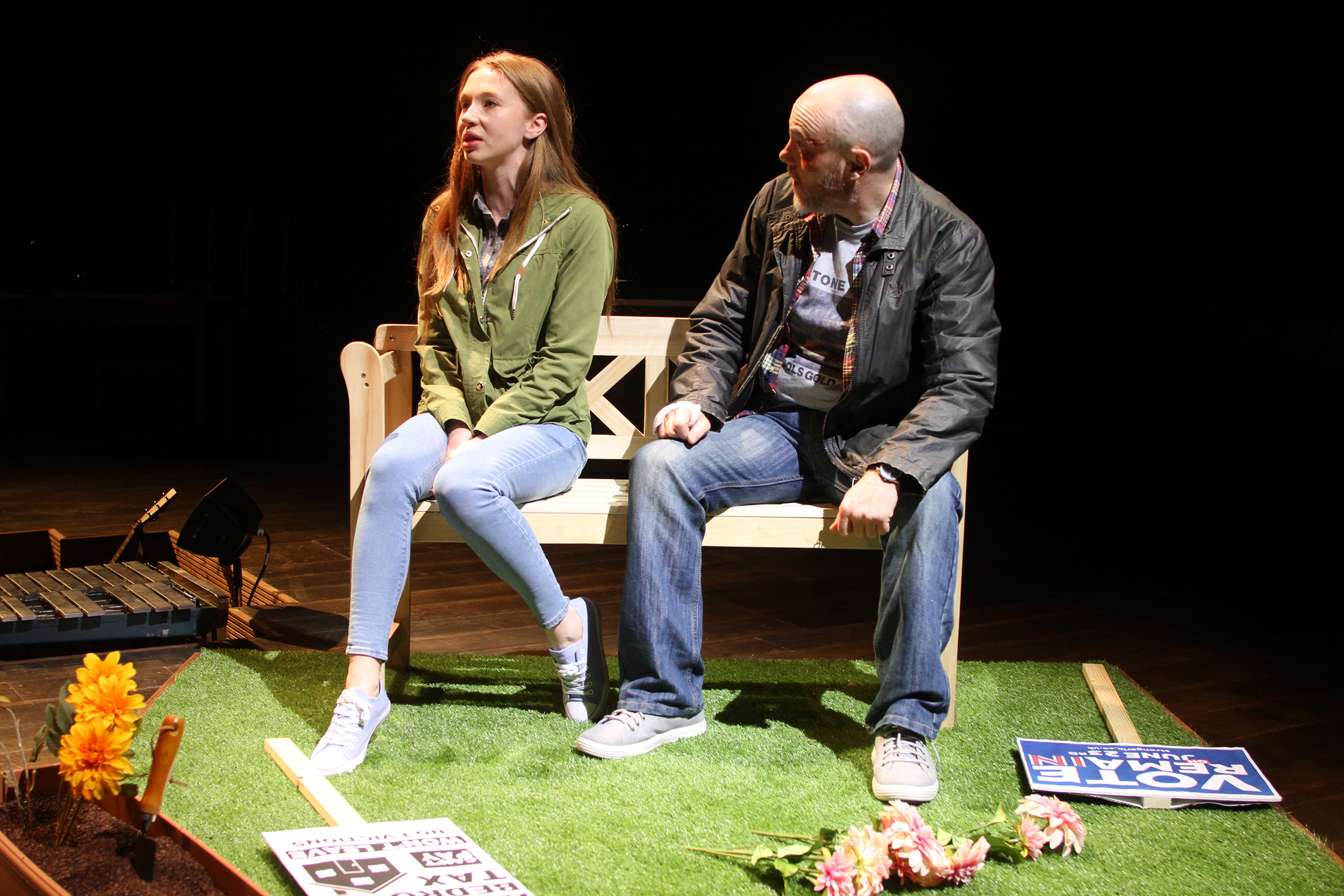 Emily Hughes & Liam Tobin in The Sum, photograph by Stephen Vaughan IMG_2358 #