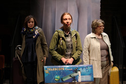 Laura Dos Santos,  Emily Hughes & Pauline Daniels  in The Sum, photograph by Stephen Vaughan IMG_271