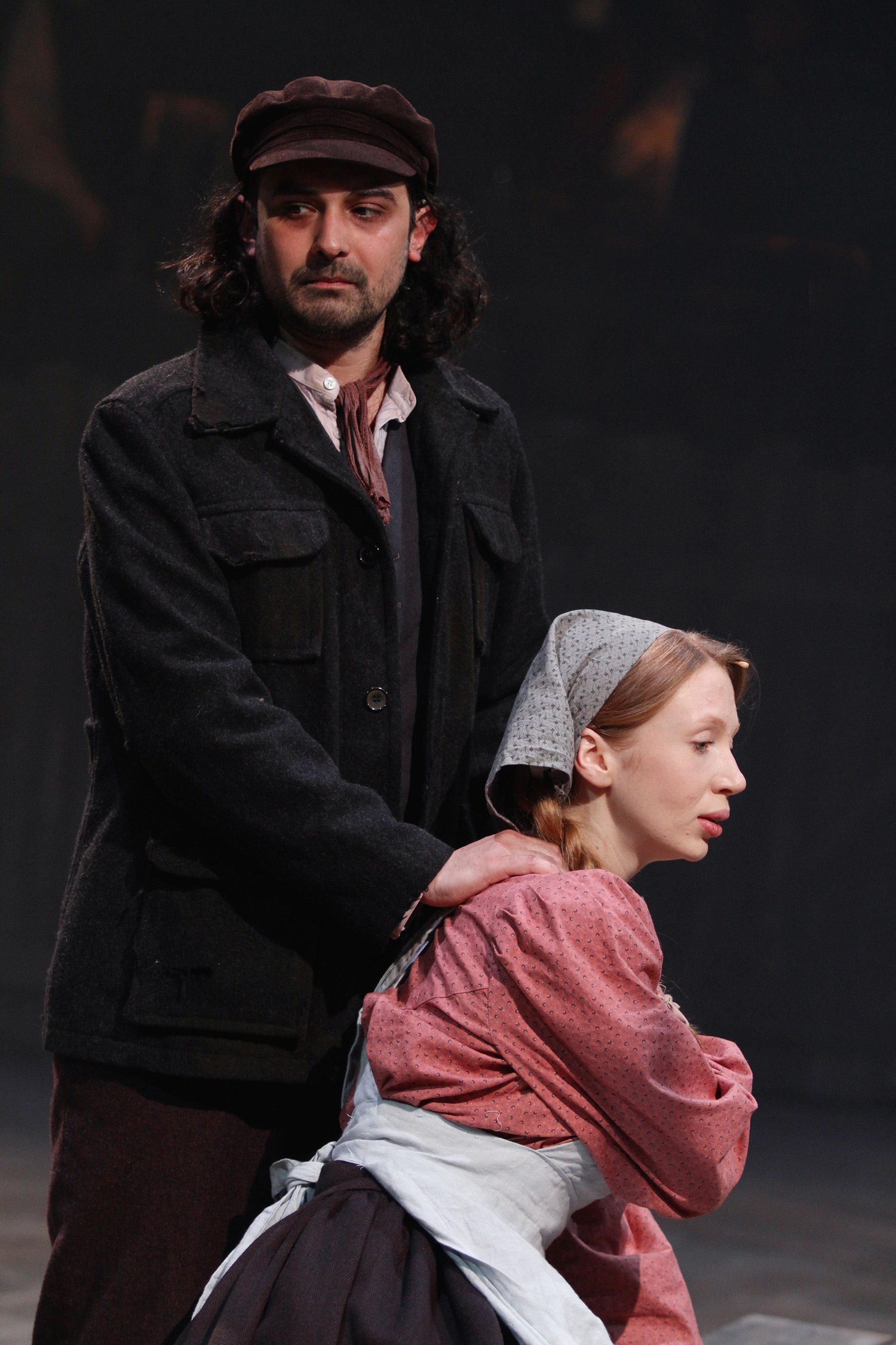 Fiddler on the Roof_Tom Kanji & Emily Hughes_by Stephen Vaughan IMG_1432