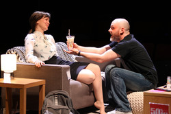 Laura Dos Santos & Liam Tobin in The Sum, photograph by Stephen Vaughan  IMG_2461