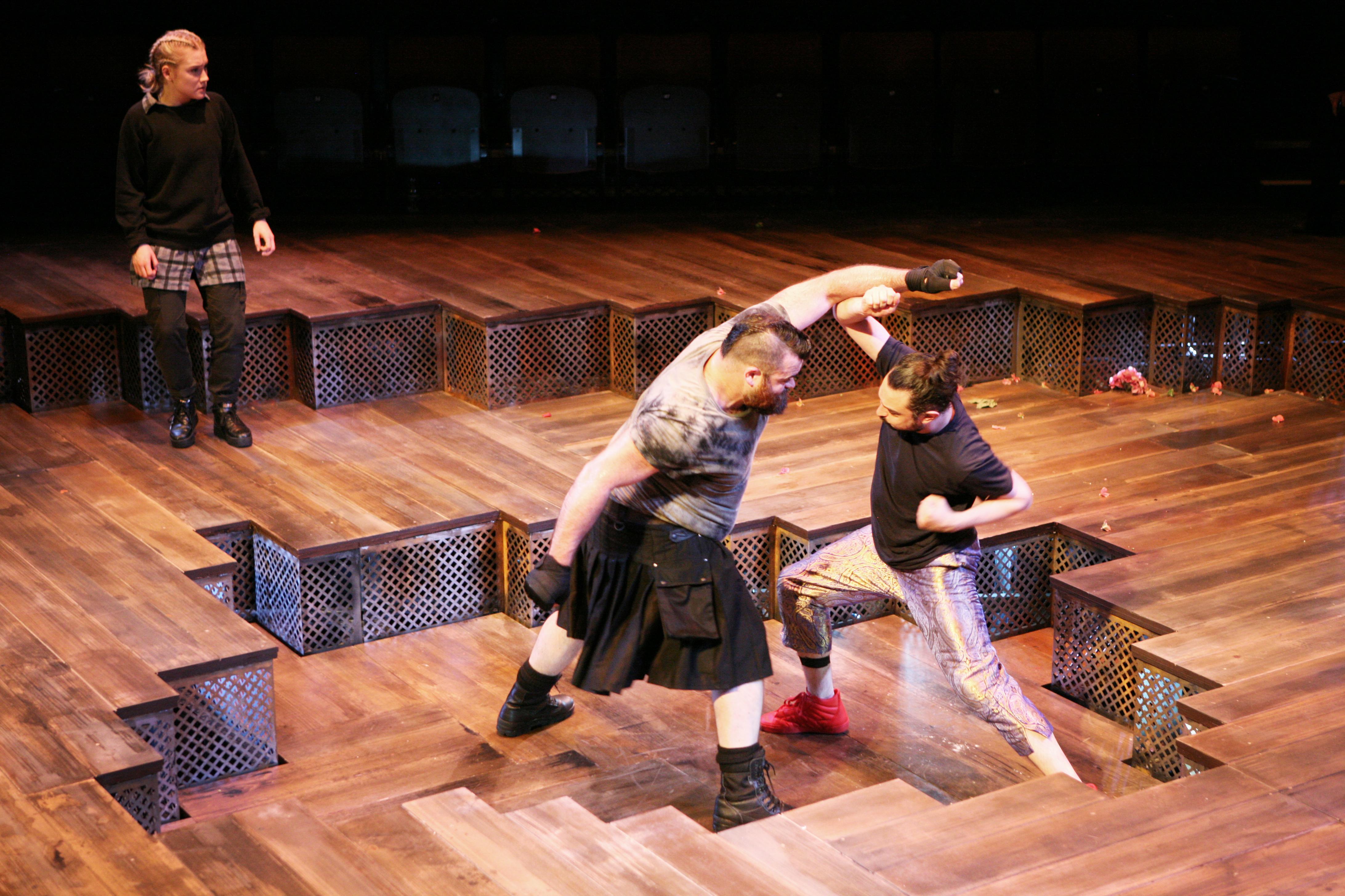 Dean Nolan & Tom Kanji in Romeo & Juliet, photo by Gary Calton GC280517122