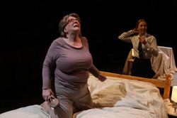 Pauline Daniels & Emily Hughes in The Sum, photograph by Stephen Vaughan IMG_2612