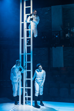 A Clockwork Orange, Phil Rayner, Nathan McMullen, and Zelina Rebeiro-Photograph by Marc Brenner 182
