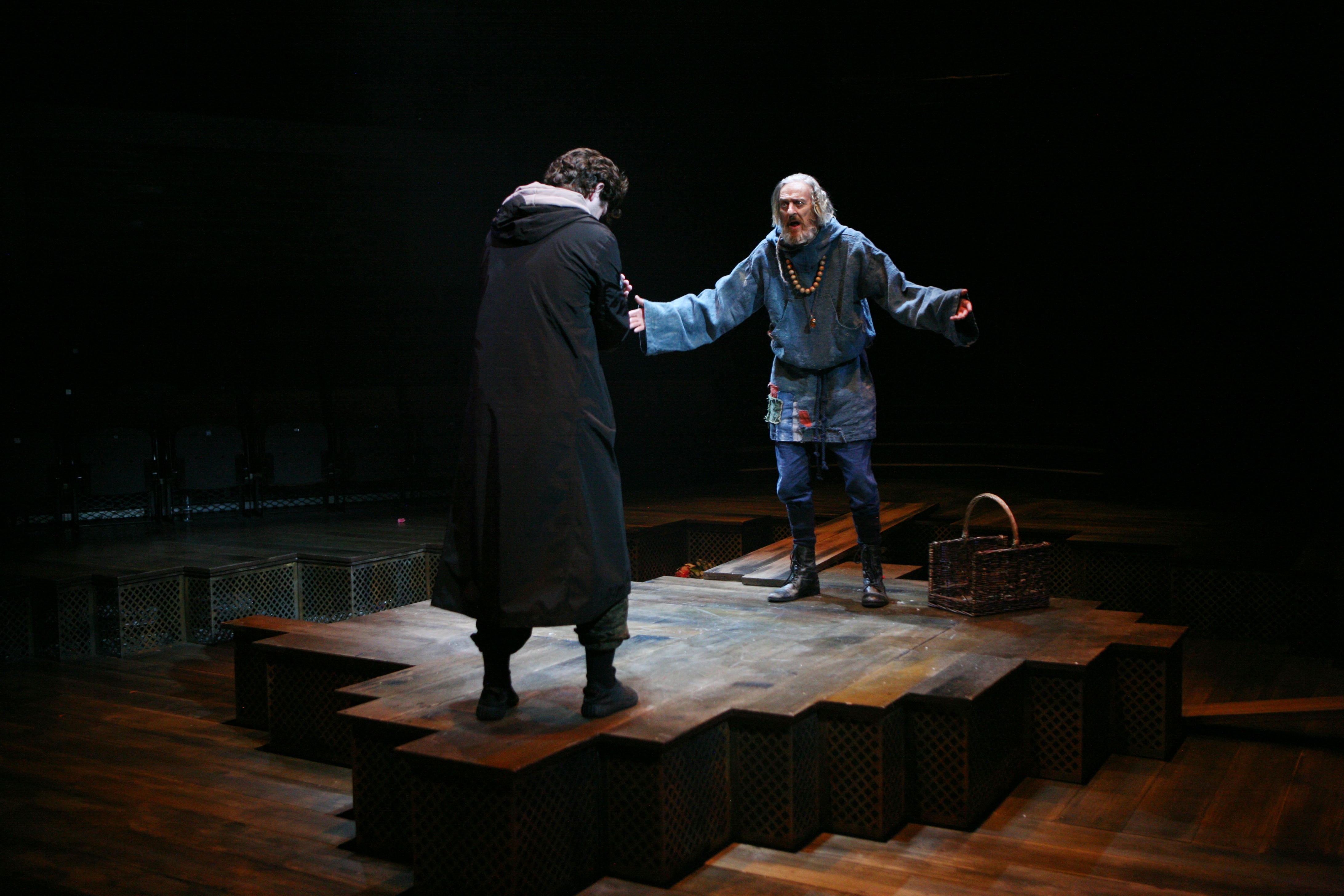 George Caple & Richard Bremmer in Romeo & Juliet, photo by Gary Calton GC280517108