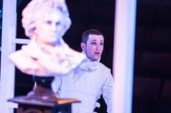 A Clockwork Orange, George Caple as Alex-Photograph by Marc Brenner 2039 #