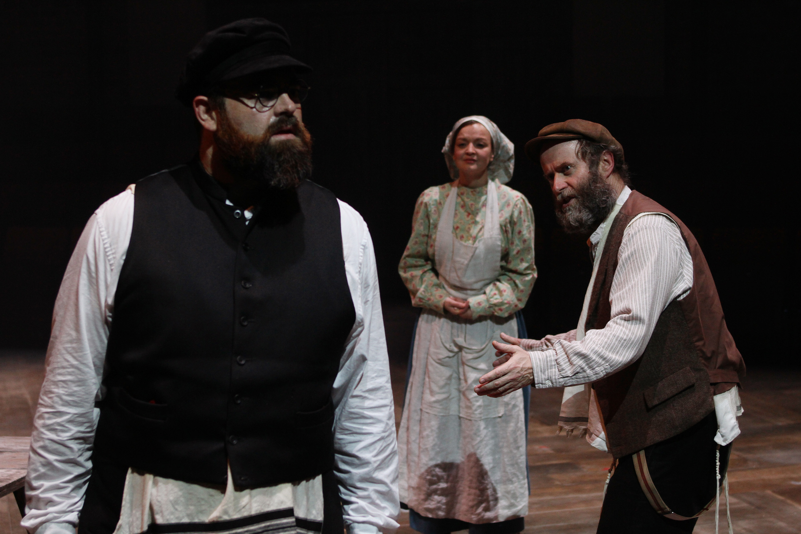 Fiddler on the Roof_Dean Nolan, Laura Dos Santos & Patrick Brennan_by Stephen Vaughan  IMG_1165