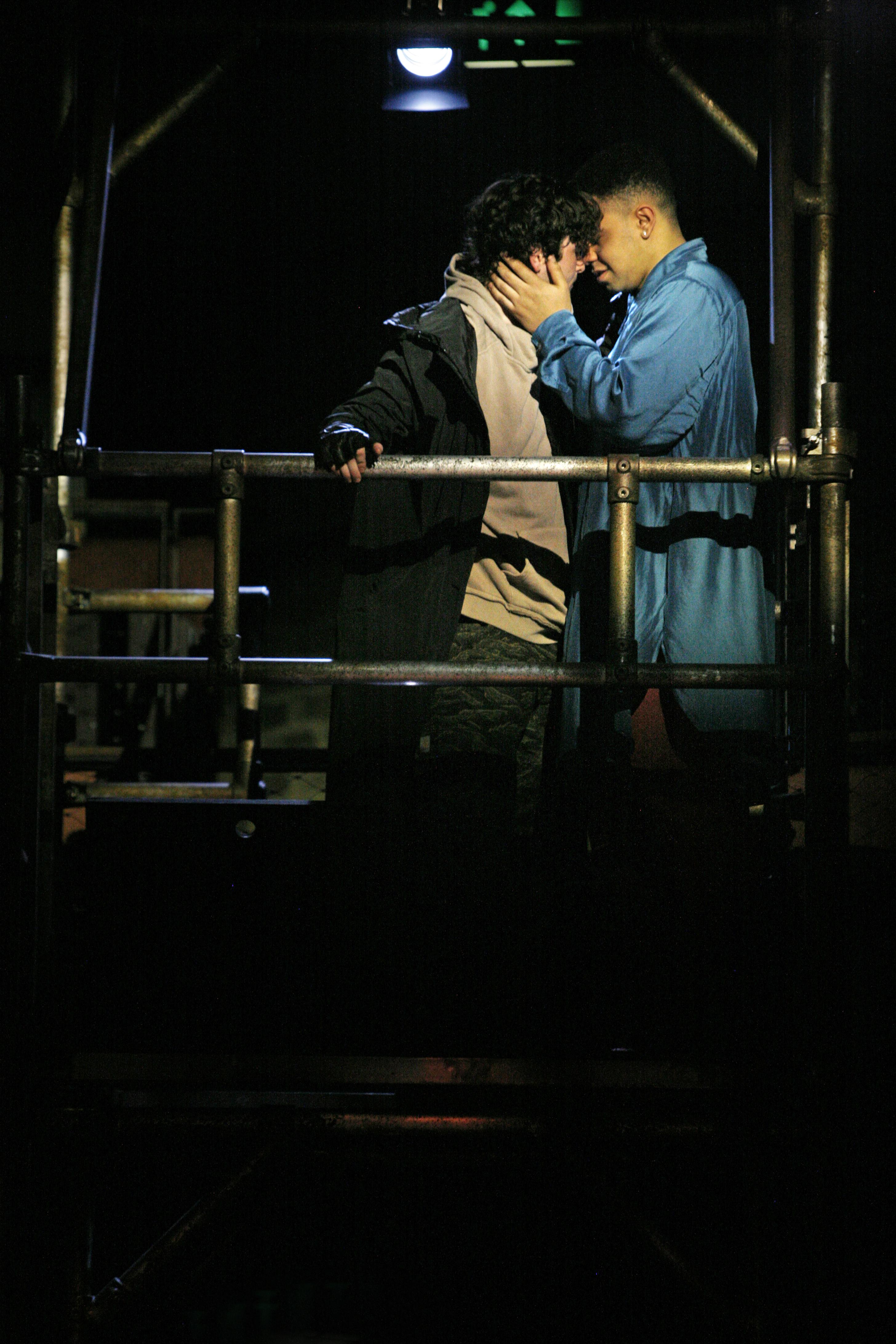George Caple & Elliott Kingsley in Romeo & Juliet, photo by Gary Calton GC270517046 #