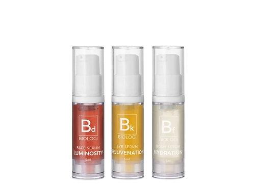 Save My Skin Bundle – Mini Pack  Serum 3 pack