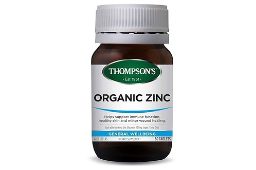 Thompson's Organic Zinc 80 Tab