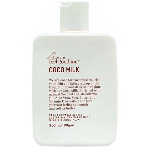 We are feel good inc. Coco Milk