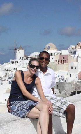 Our Honeymoon in Greece.